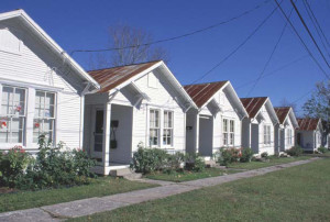 Project Row Houses in Houston's 3rd Ward, started by artist Rick Lowe