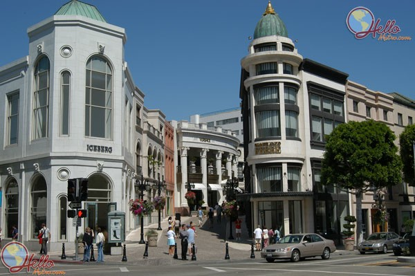 Rodeo Drive Boutiques, Beverly Hills
