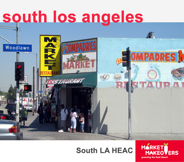 Los Compadres Market, South Los Angeles, 2007. Courtesy Public Matters, LLC.