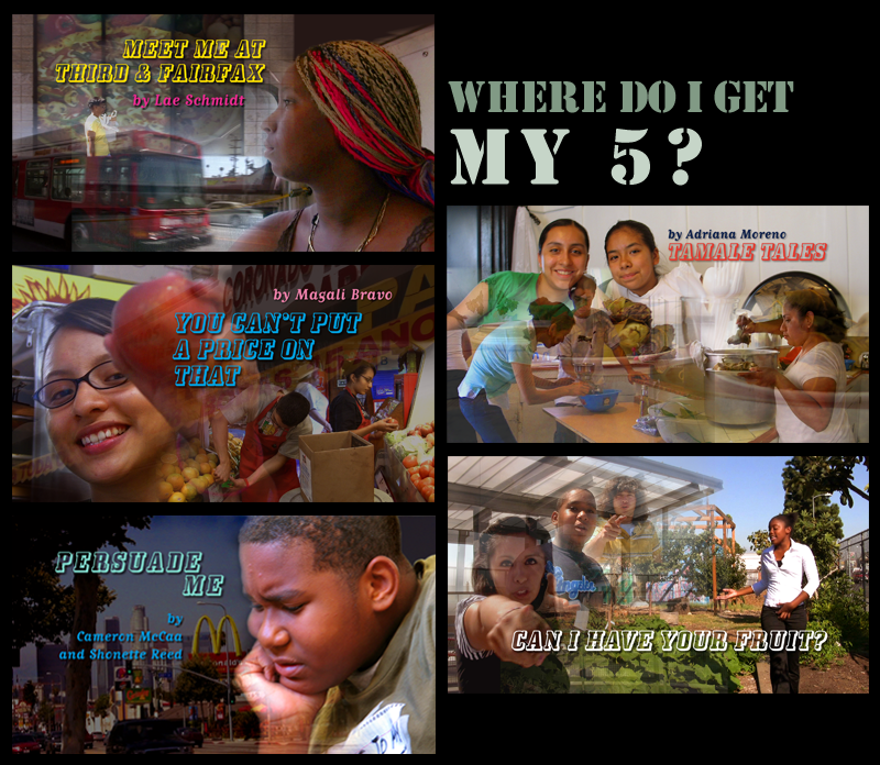 """Where do I get my 5?"" promotional image, 2007-2009. Courtesy Public Matters, LLC."