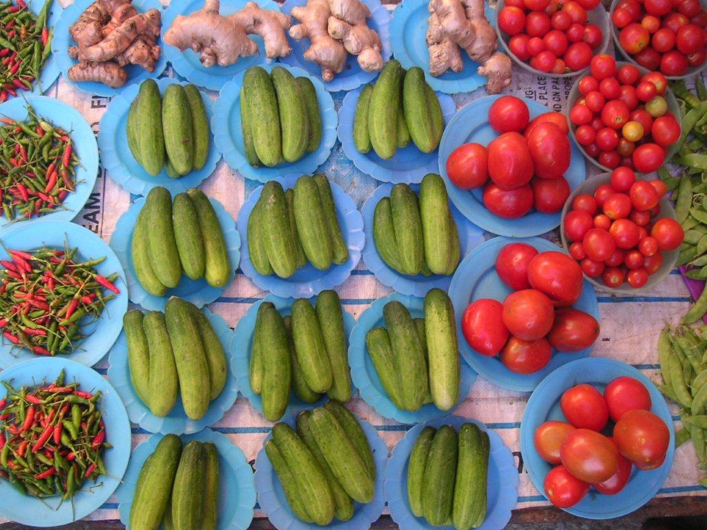 'Food is Art, Art is Food' Village market, outside of Chaing Mai, Thailand, 2008. | Photo: Courtesy Andy Lipkis.