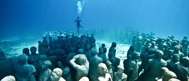 Jason DeCaires Taylor, Silent Evolution.